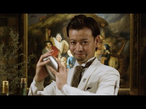 The Smokey Gin and Juice Absinthe Killer l | Japan's Greatest Bartender