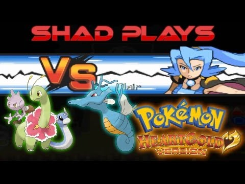 Shad Plays Pokemon HeartGold Episode 15: Kingdra VS Meganium - The Final Gym Battle
