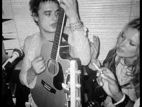 Pete Doherty and Kate Moss(what katie did)