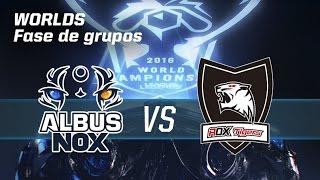 Albus Nox Luna VS Rox Tigers - #worldsLVP5 - World Championship 2016 - Fase de grupos 5