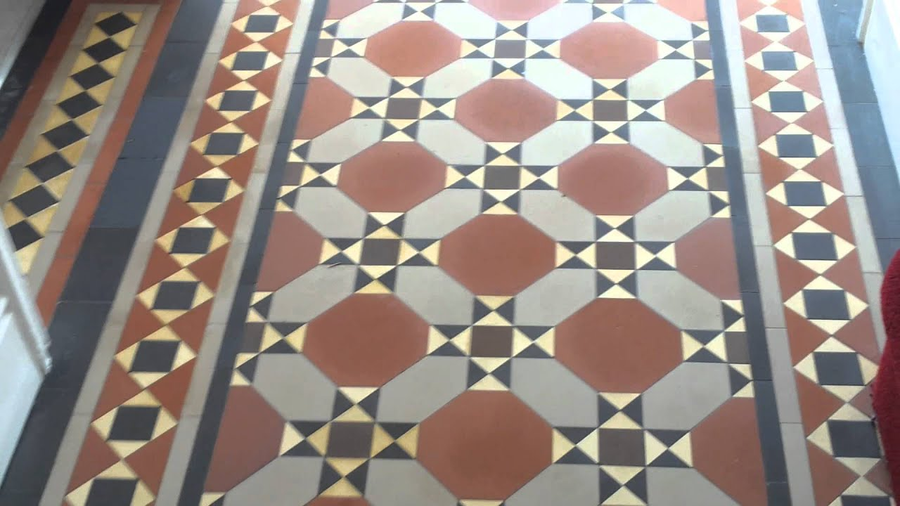 Minton Floor Tiles Cleaned By Kestrel Youtube