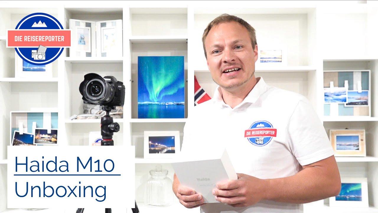 Fotografie: Haida Filtersystem M10 Unboxing - Erster Eindruck des Starter Sets mit CPL, ND und GND