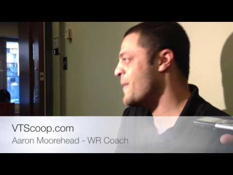 Spring Practice 4/1/14 - Aaron Moorehead