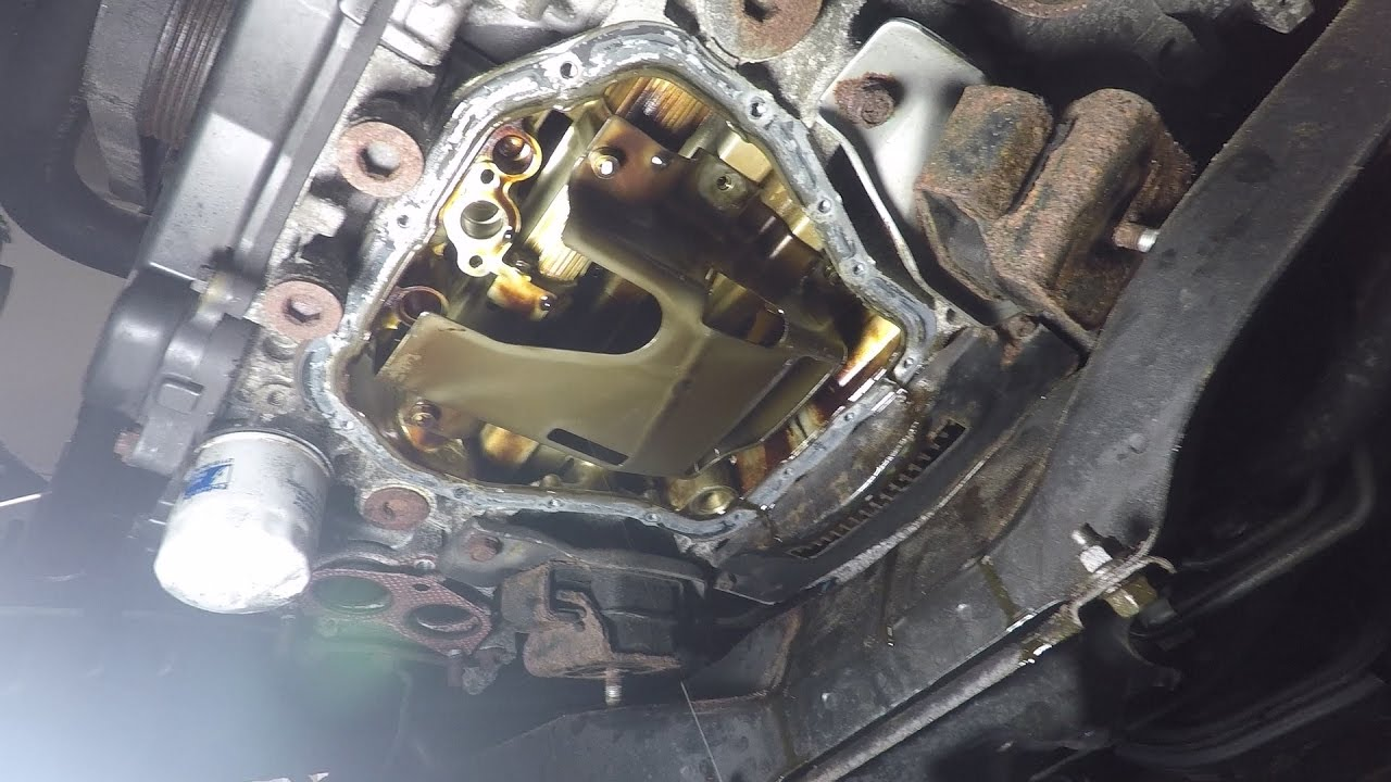 medium resolution of removing subaru oil pan