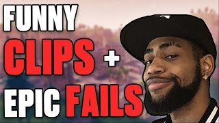 DAEQUAN FUNNY MOMENTS & EPIC FAILS | HIGH KILL BLITZ SOLO GAME - (Fortnite Battle Royale)