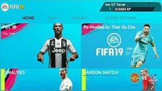 FIFA 19 MOD FIFA 14 Android Offline HD New Transfer & Kit Update 1.4 GB [New Menu, New Controlls]