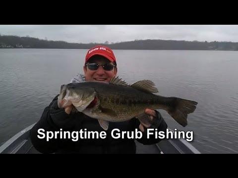 Springtime Grubs - Prespawn Bass