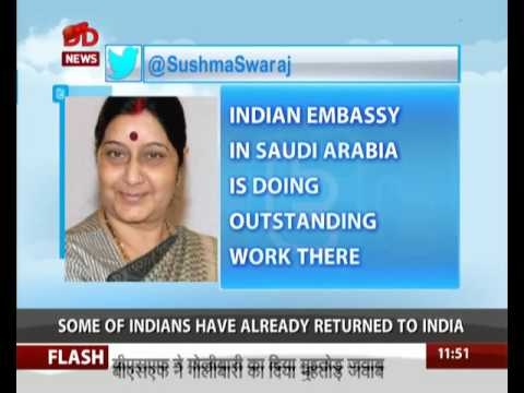Indian workers stuck in Saudi Arabia to return home from today