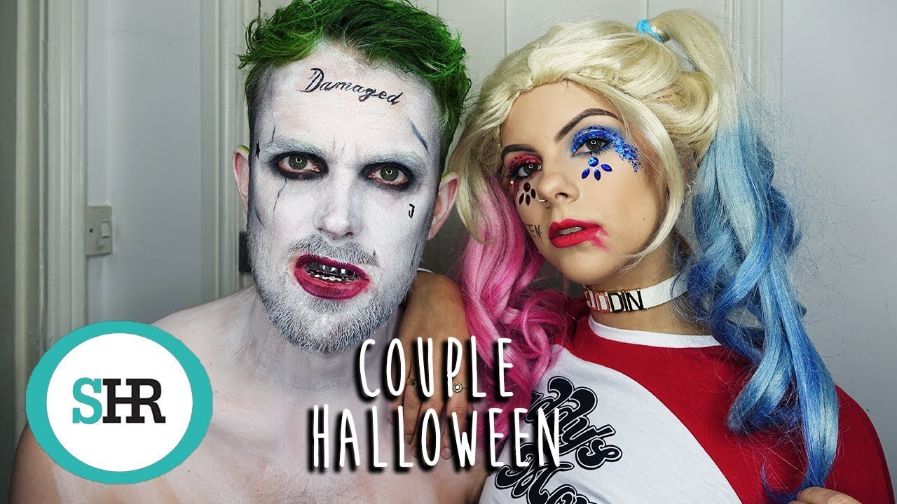 HARLEY QUINN U0026 JOKER COUPLE HALLOWEEN COSTUME 2017