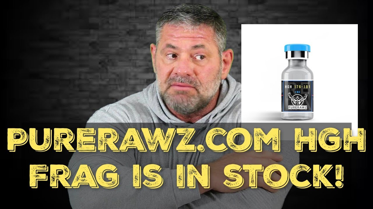 PureRawz HGH Frag Is Back In Stock!