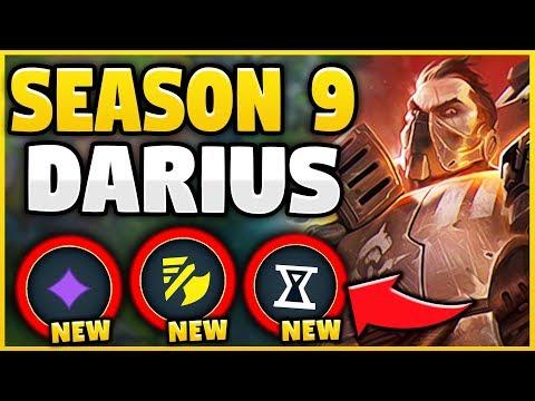 WTF! SEASON 9 BUFFS MAKE DARIUS BEYOND BROKEN! 100% PERMA-BANNED CHAMPION! - League of Legends