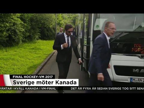 Sverige mot Kanada i VM-final - Nyheterna (TV4)