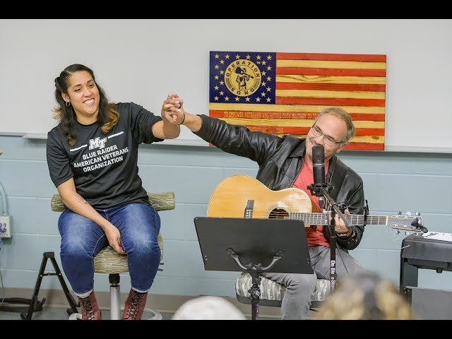 MTSU students, veterans, songwriters share music at 2019 Operation Song