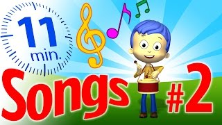 TuTiTu Songs | Songs for Children Collection (with lyrics) | Vol. 2