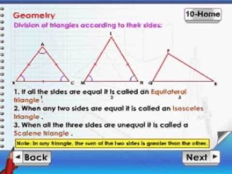 Learn Maths - Class 5 - Geometry
