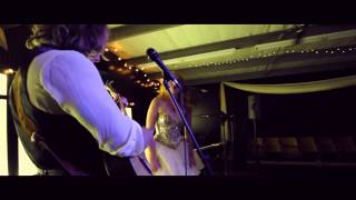 Bride and Groom rock out at Yellow Rock Events in Amarillo TX
