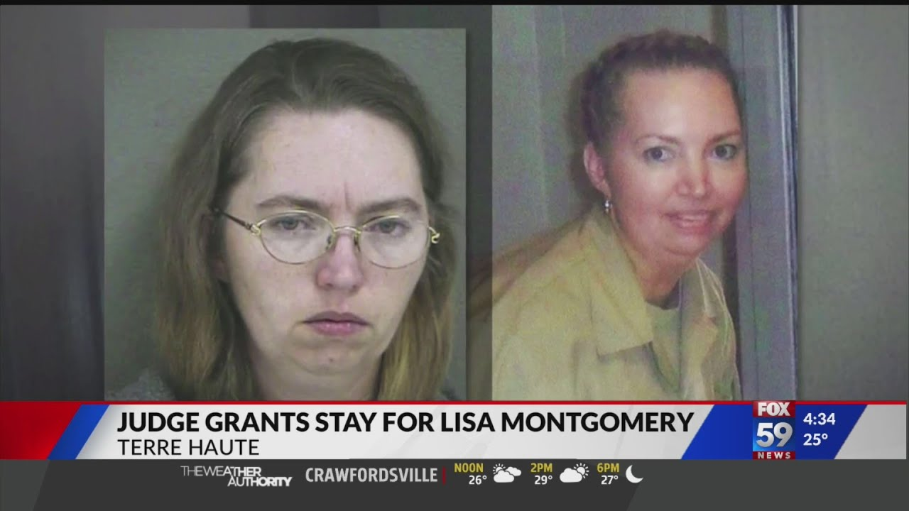 Lisa Montgomery: A federal judge has granted a stay of execution ...