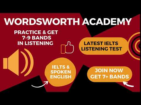 WORDSWORTH ACADEMY   LISTENING TESTS