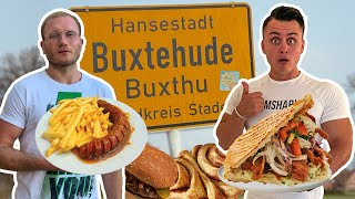 Ich esse 1 Tag ALLES in BUXTEHUDE mit @Holle21614  😋🍟🌮