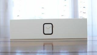 Apple Watch Series 4 (40mm) Unboxing und erster Eindruck (Deutsch)