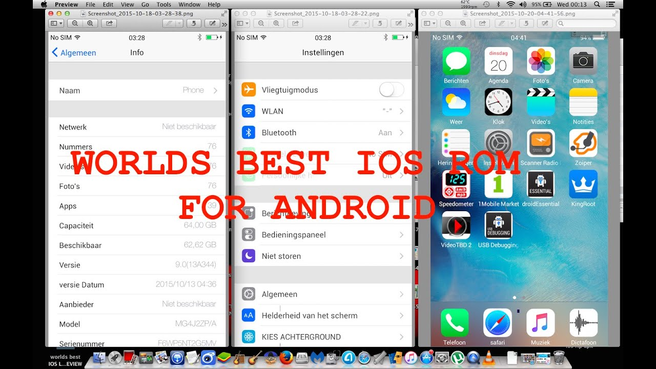 WORLDS BEST EVER CREATED 1:1 IOS SKIN ROM LAUNCHER for Android is not  available (LINKS)