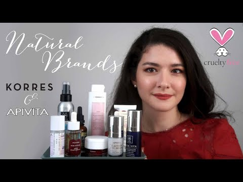 Greek Natural Skincare Brands Korres & Apivita Review 🌱 (Eng Subs)