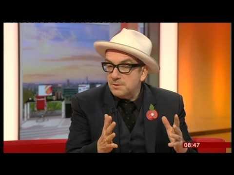 BBC Breakfast - Elvis Costello interview 2015