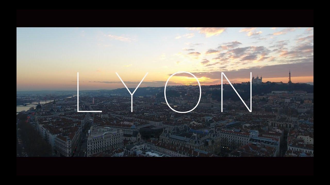 LYON - 4K drone video