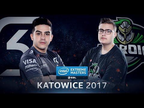 CS:GO - SK Vs. Heroic [Mirage] - Group B - IEM Katowice 2017