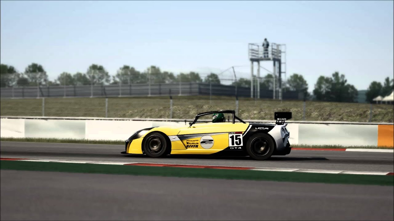 assetto corsa lotus 2 eleven gt4 nurburgring gp test drive youtube. Black Bedroom Furniture Sets. Home Design Ideas