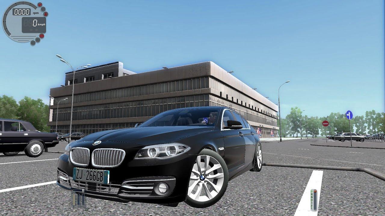 9b48333595f0 City Car Driving 1.5.2 BMW 535i xDrive F10  G27  - YouTube