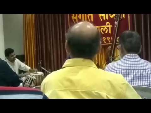 Raag Pooriya Dhanashree By Shri. Om Bongane