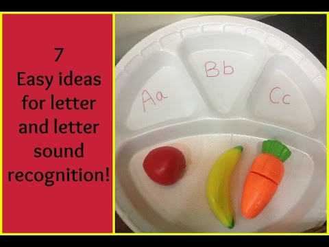 7 hands-on ways to teach your child about alphabet recognition and phonetic sounds!