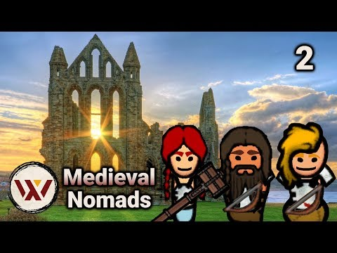 Supreme Skill! #2 Medieval Nomads - Rimworld No Pause Intense Gameplay Challenge! Beta 18