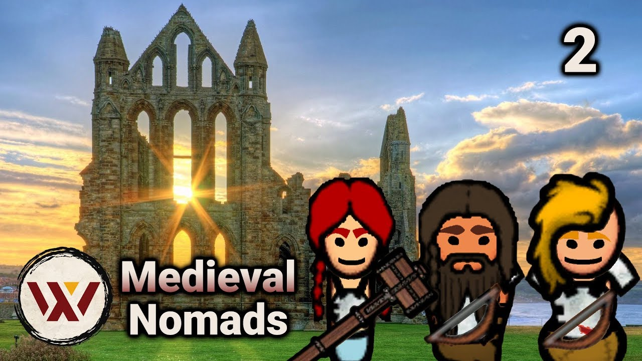 Supreme Skill! #2 Medieval Nomads - Rimworld No Pause Intense Gameplay  Challenge! Beta 18