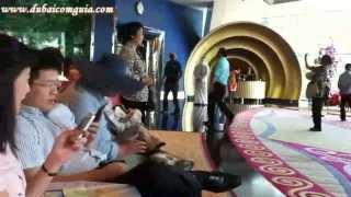 Esperando clientes no Burj Al Arab | www.dubaicomguia.com