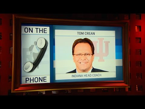 Indiana Hoosiers Men's Basketball Head Coach Tom Crean on March Madness & More - 3/23/16