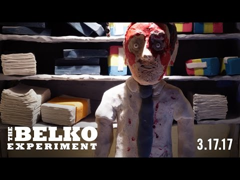 THE BELKO EXPERIMENT - CLAYMATION SHORT #4 (LEE HARDCASTLE)