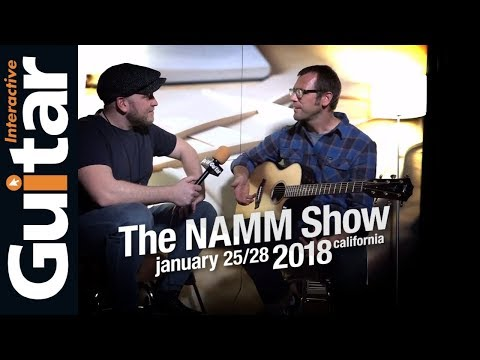 NAMM 2018  Andy Powers   Taylor Guitars
