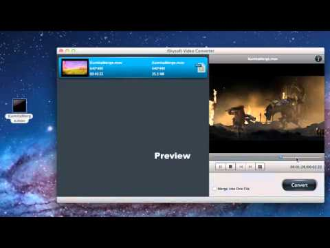 How To Merge Or Split MOV Files On Mac Lion Video