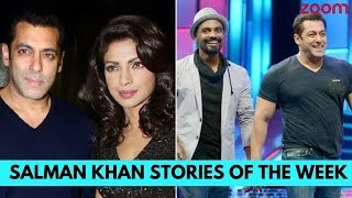 Priyanka Opposite Salman In 'Bharat', Remo Not Happy With 'Race 3' | Salman Khan Stories Of The Week