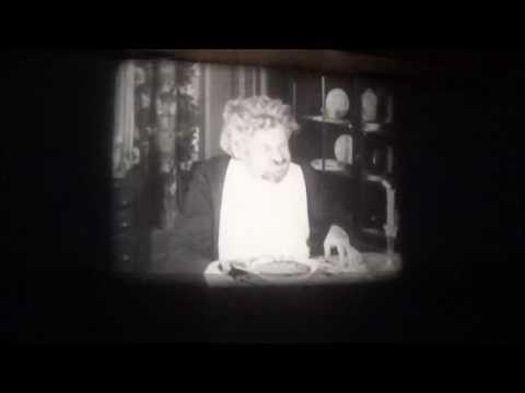 Beth Ertz improvising the accompaniment to a silent film