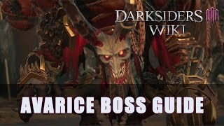 Darksiders 3 Avarice Boss Fight (Apocalyptic Difficulty)