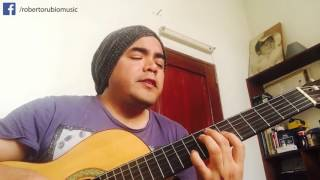 SHAPE OF MY HEART - Sting (cover en guitarra y voz por Roberto Rubio) Video