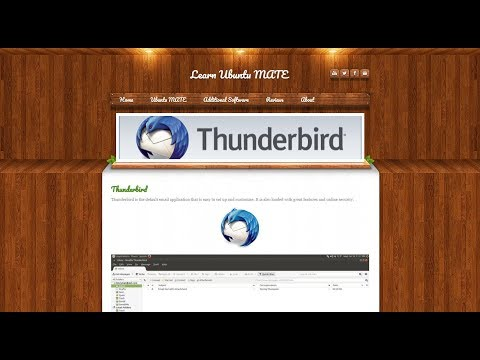 Setting Up and Using Thunderbird Email Client