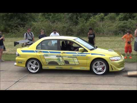 Paul Walker's Mitsubishi Evo // 2 Fast 2 Furious Movie Car