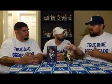 Sandy Koufax 2015 Dodgers Bobblehead Review