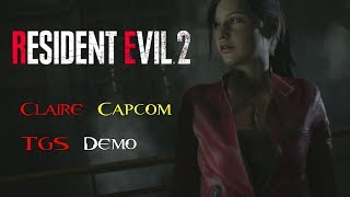 Resident Evil 2 Remake - Claire Gameplay Capcom Stage Demo - Tokyo Game Show