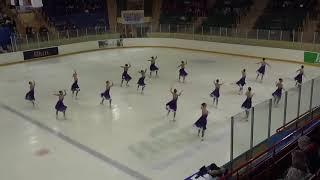 Команда по синхронному фигурному катанию на коньках Юность