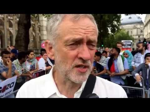 British politician Stands up for Gaza